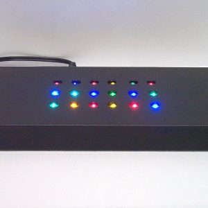 G3-914 - LED Light Up Base For Custom Crystal - Colour Changing - Black-0