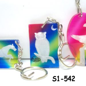 S1-542 - Engraved Animal Key-Chain-0