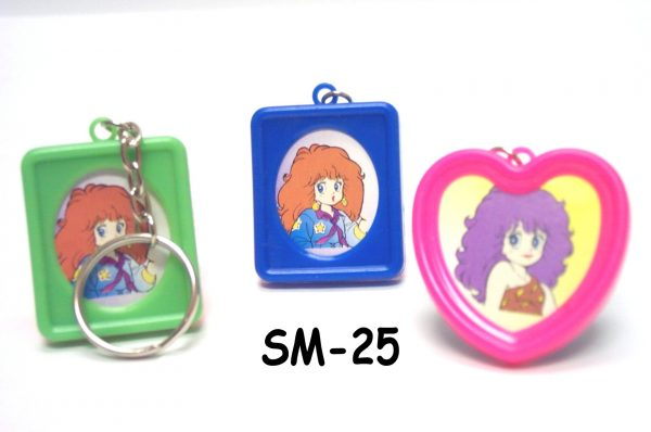 SM-25 - Plastic Photo Frame Key-Chain-144 per Bag-0