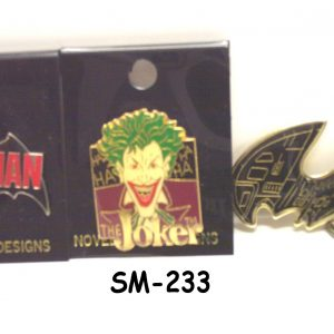 SM-233 - Batman Movie Key-Chains & Pins-0