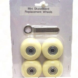 T5-606 - Mini Skateboard Replacement Wheels w/ Wrench-0