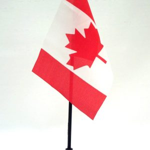 "B1-600 - 1 dz. Canadian Flag on Stick (4"" X 6"")-0"