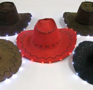 F1-3 - B/O Light-Up Cowboy Hat-0
