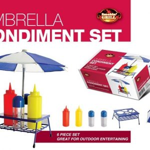 "K1-200 - ""Umbrella"" Condiment Set-0"
