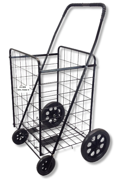 H1-904 - Shopping Cart (Black)-0