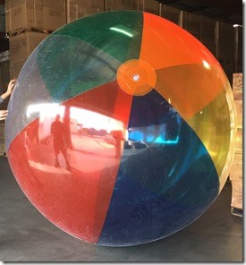 T5-101 - Humongous 9' Beach Ball-2913