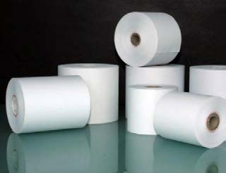"""ZMS-25 - 3 1/8 """"x 225' Thermal Paper Roll (55g)-0"""