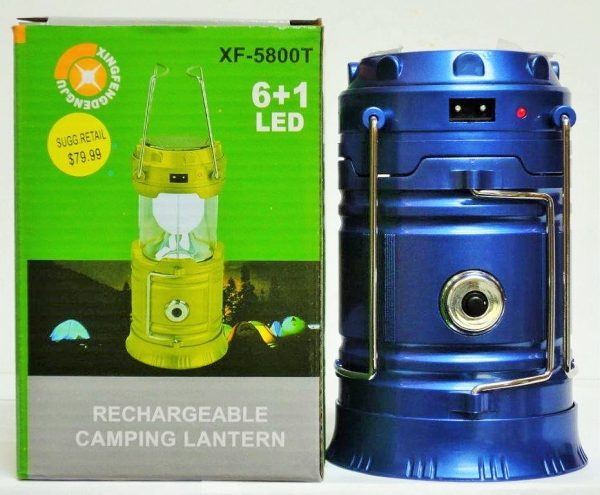 H1-210 - Solar/Rechargeable LED Lantern/Flashlight-3288