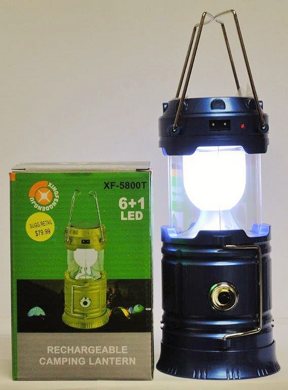 H1-210 - Solar/Rechargeable LED Lantern/Flashlight-3289