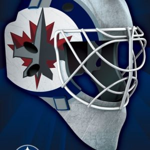 "P1-224 - 22"" X 34"" Laminated Board (Jets Logo Mask)-0"