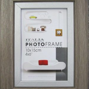 "P3-210 - 4"" X 6"" D. Brown Frame-0"