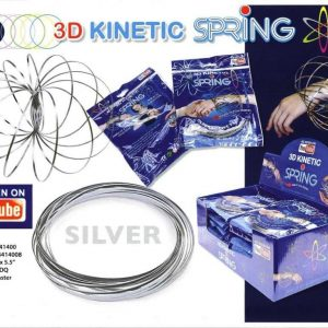 T4-351 - 3D Kinetic Spring (Silver)-0