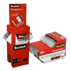 S1-425 - 3M Transparent Scotch Tape 2 pk.-0