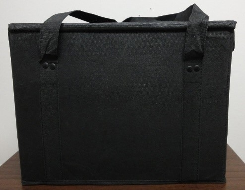 F1-652 - Insulated Grocery Bag - Black-4042