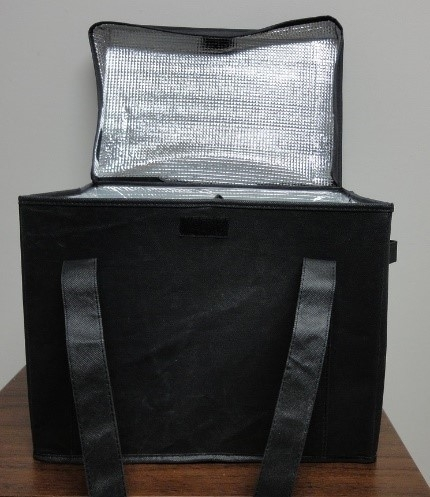F1-652 - Insulated Grocery Bag - Black-0
