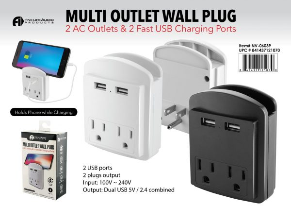 H1-415 - Multi Outlet Wall Plug-0