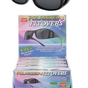 E1-305 - 'Fitover' Polarized Sunglass 12/dl.-0
