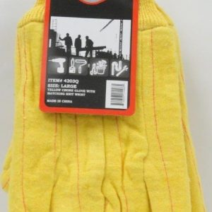 F1-133 - Yellow Chore Glove (Large)-0