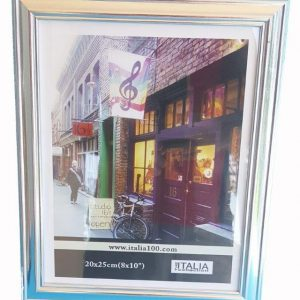 "P3-227 - 4"" X 6"" Silver Colour Frame-0"