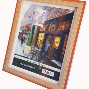 "P3-231 - 4"" X 6"" Two Tone Orange Frame-0"