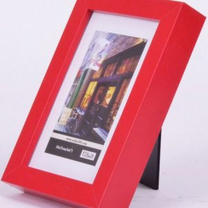 "P3-634 - 8"" X 10"" Red MDF Frame-0"