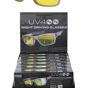 E1-307 - UV400 Night Driver Glasses (12/dl.)-0