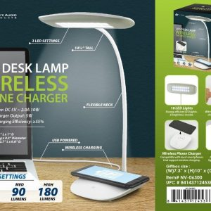 G2-750 - LED Desk Lamp/Wireless Phone Charger-0